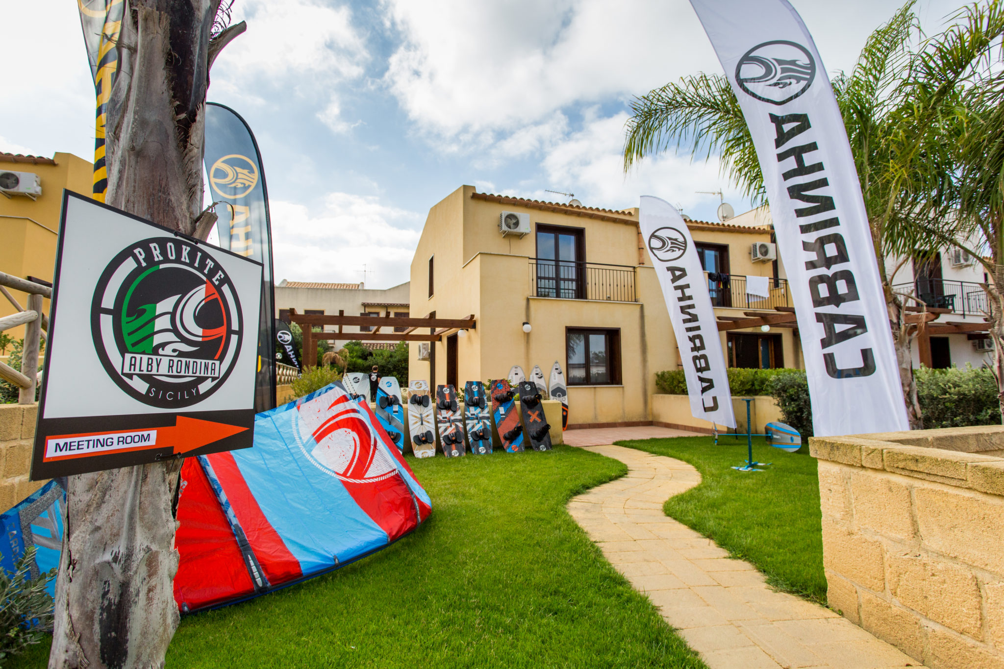 Kitesurf School, Rentals & Accomodation in Sicily | ProKite Alby Rondina
